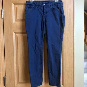 Eileen Fisher Size 2 Straight Leg Stretch Jeans